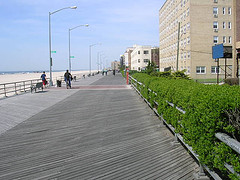 Rockaway Beach boardwalk